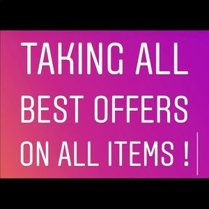 Other - TAKING ALL BEST OFFERS! Trying to clear my closet!